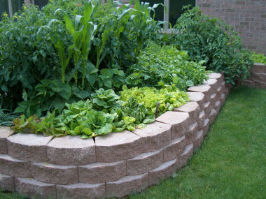 ... Raised Bed Planter. Courtesy Of Donan Landscaping