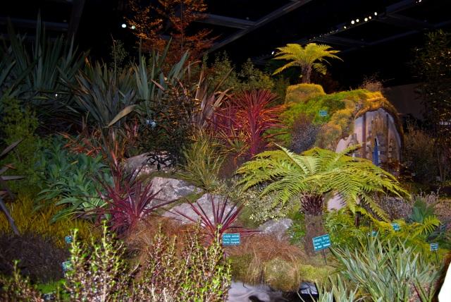 A Hobbit's New Zealand Garden