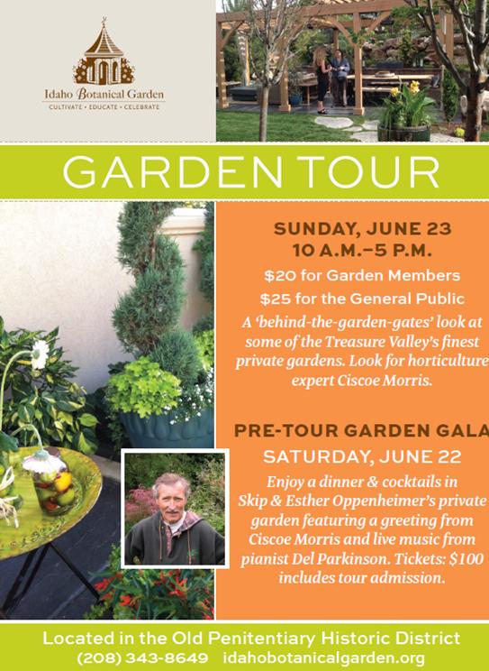 garden tour ad